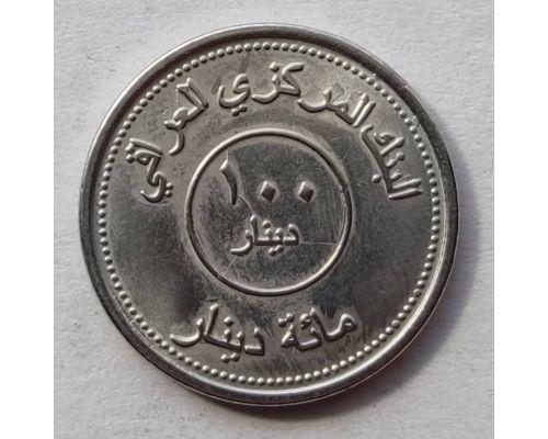 100 динаров 2004 год Ирак