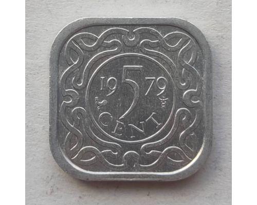 5 центов 1979 года Суринам