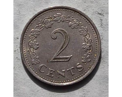 2 цента 1972 год Мальта